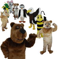 Mask US Animal MAscot Costumes