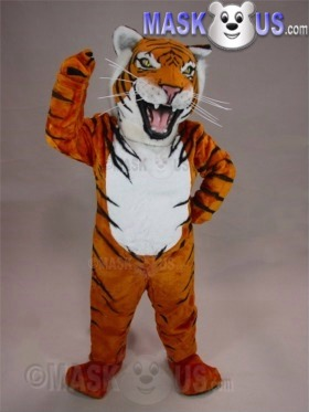 Bengal Tiger Mascot Costume 43070