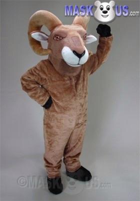 Desert Bighorn Mascot Costume 47296