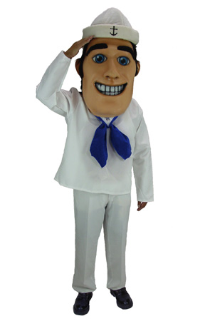 Sailor Mascot Costume 34238
