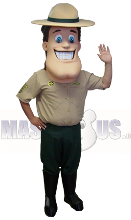 Ranger or Scout Mascot Costume 44114