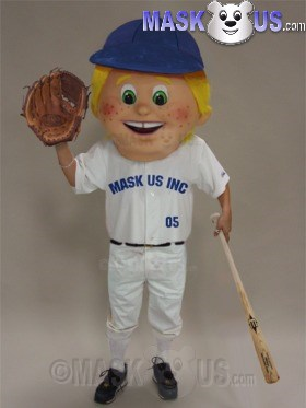 Baseball Kid Mascot Costume 44123