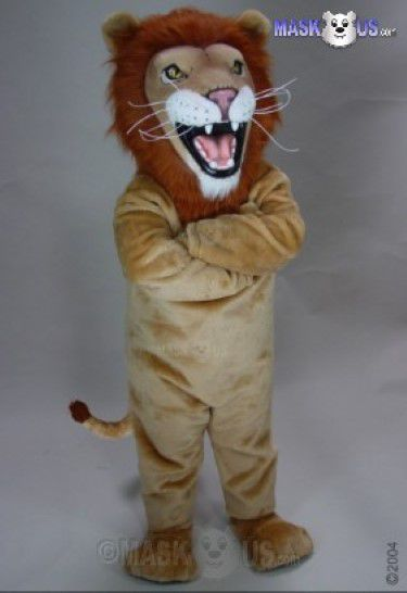 African Lion Mascot Costume 23075