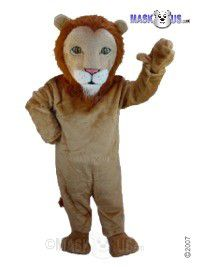 African Lion Mascot Costume T0030