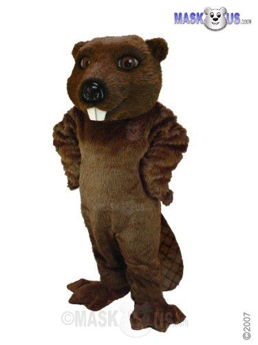 Beaver Deluxe Adult Size Beaver Mascot Costume T0097