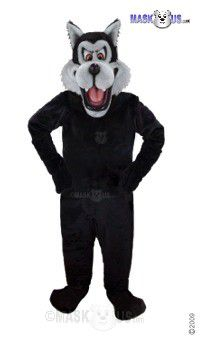 Big Bad Wolf Mascot Costume 48145