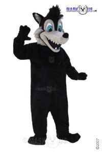 Big Bad Wolf Mascot Costume T0107