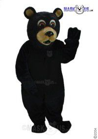 Black Bear Mascot Costume 21037