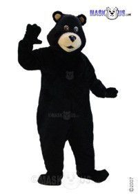 Black Bear Mascot Costume T0047