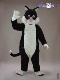 Black Cat Mascot Costume 43087