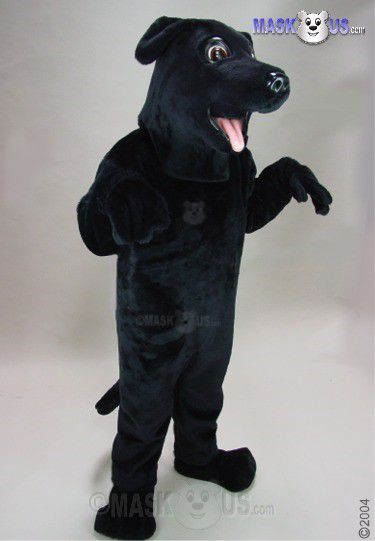 Black Lab Mascot Costume 25129