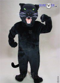 Black Panther Mascot Costume 23084