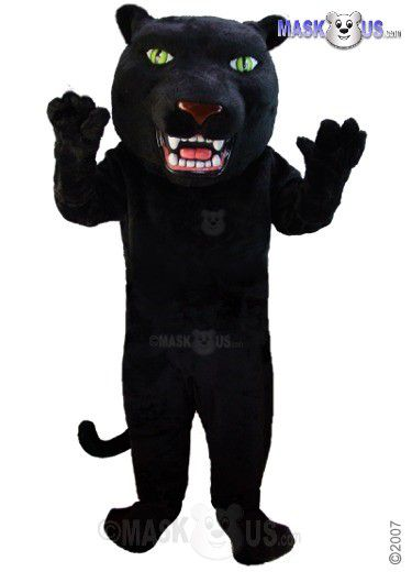 Black Panther Deluxe Adult Size Panther Mascot Costume