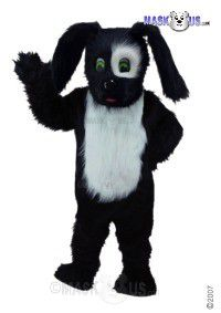 Black Sheepdog Mascot Costume T0088