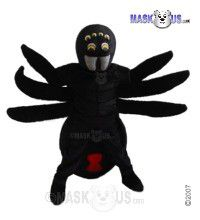 Black Widow Mascot Costume T0195