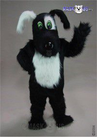 Blackie Mascot Costume 45129