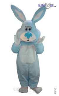 Blue Cottontail Mascot Costume T0257