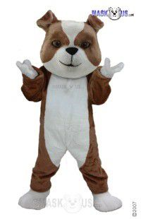 British Bulldog Mascot Costume T0083