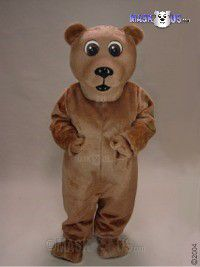 Brown Bear Mascot Costume 21033
