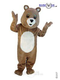 Brown Bear Mascot Costume T0051