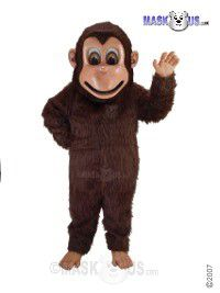 Brown Monkey Mascot Costume T0174
