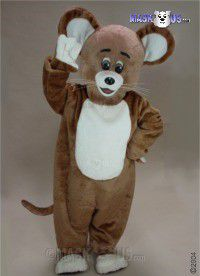 Brown Mouse Mascot Costume 42269