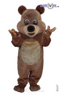 Brown Teddy Mascot Costume T0053
