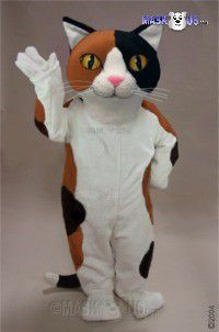 Calico Cat Mascot Costume 43094