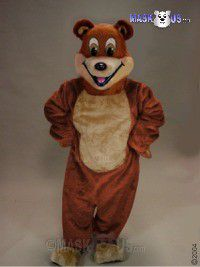 Cartoon Bear Mascot Costume 41024