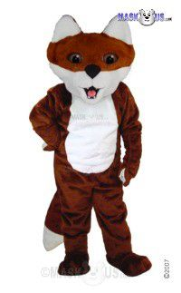 Cartoon Fox Mascot Costume T0102