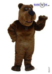 Cartoon Grizzly Mascot Costume T0041