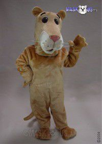 Cartoon Lioness Mascot Costume 43078