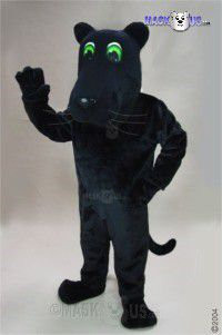 Cartoon Panther Mascot Costume 43084