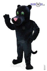Cartoon Panther Mascot Costume T0018
