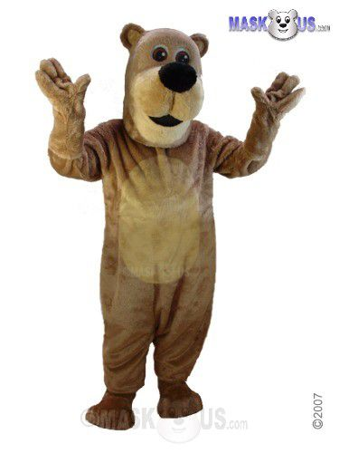 Cartoon Teddy Mascot Costume T0055
