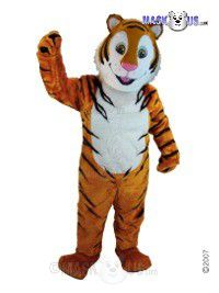Cartoon Tiger Mascot Costume T0002