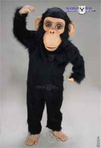 Chimp Mascot Costume 33287