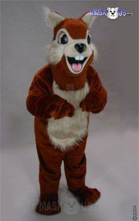 Chipmunk Mascot Costume 28140