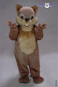 Chipper Mascot Costume 48141