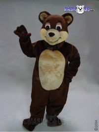 Chocolate Bear Mascot Costume 41421