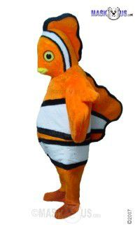 Clown Fish Mascot Costume T0123