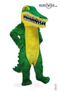 Crocodile Mascot Costume T0203