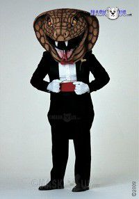 Dressed To Kill Mascot Costume 36275