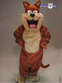 Fat Cat Mascot Costume 43092