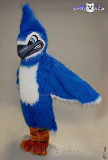 Fierce Blue Jay Mascot Costume 42048