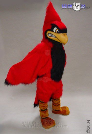 Fierce Cardinal Mascot Costume 42047