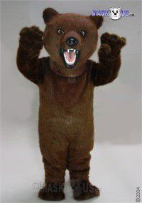 Fierce Grizzly Mascot Costume 21031