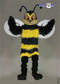 Fierce Hornet Mascot Costume 40273