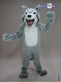 Fierce Husky Mascot Costume 45121