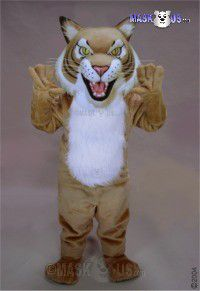 Fierce Wildcat Mascot Costume 43703
